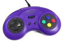 [Nintendo SNES] Drátový ovladač Saitek Megapad II (estetická vada)