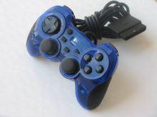 [PS2] Drátový Ovladač Logitech G-X2F16 - modrý průhledný