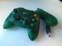 [Xbox Original] Drátový ovladač BigBen Interactive - zelený (bez gumového kloboučku na páčce)