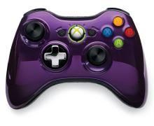 [Xbox 360] Bezdrátový Ovladač Microsoft Chrome - fialový