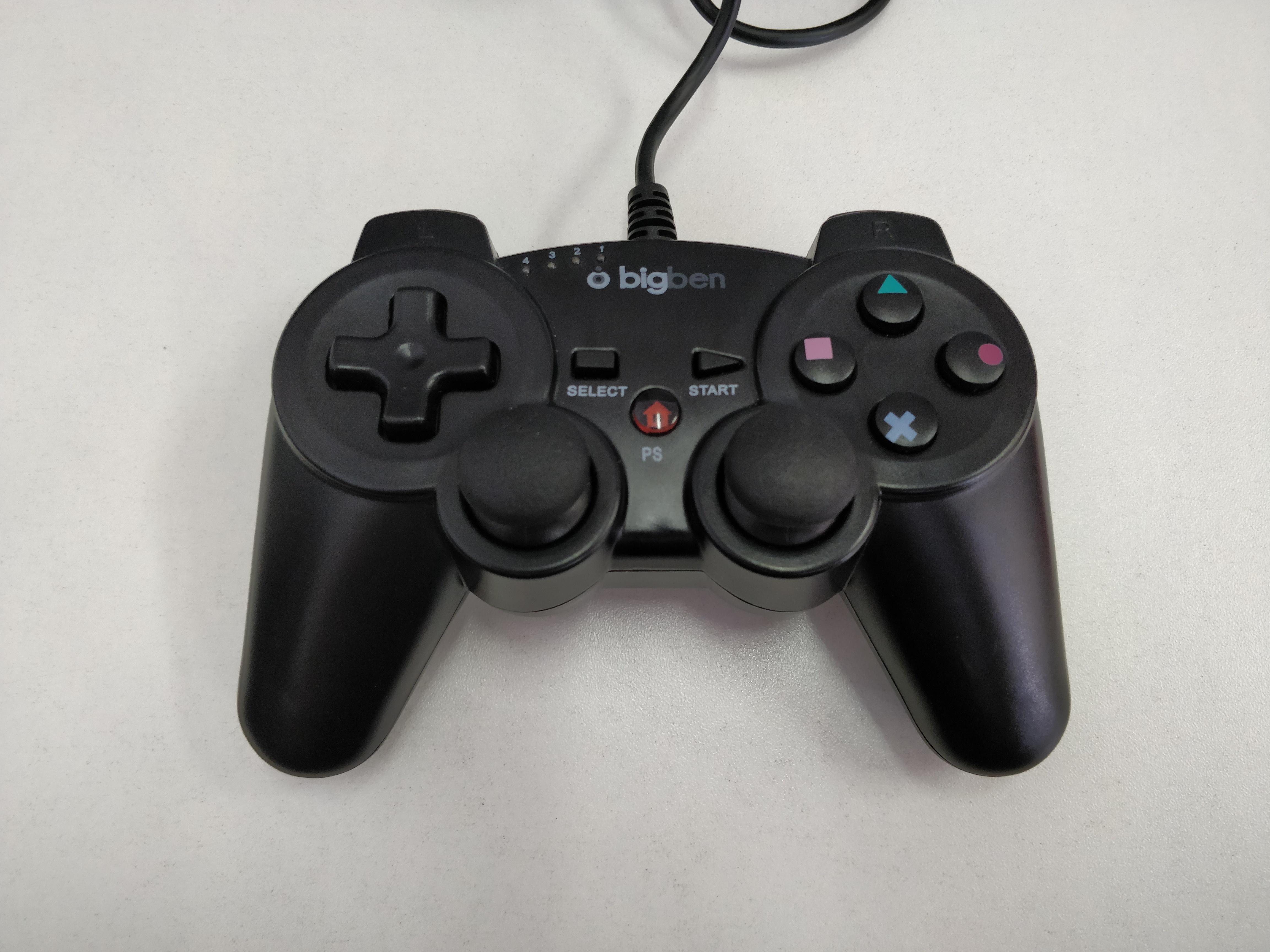 [PS3] Drátový Ovladač Bigben - černý (estetická vada)