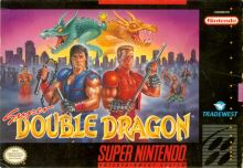 Nintendo SNES Super Double Dragon