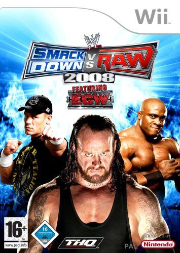 Nintendo Wii Smackdown Vs Raw 2008