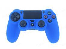 [PS4] Protiskluzový Návlek na Ovladač (modrý)