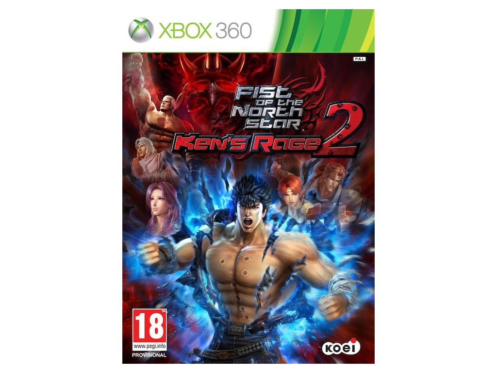 Xbox 360 Fist Of The North Star Ken's Rage 2