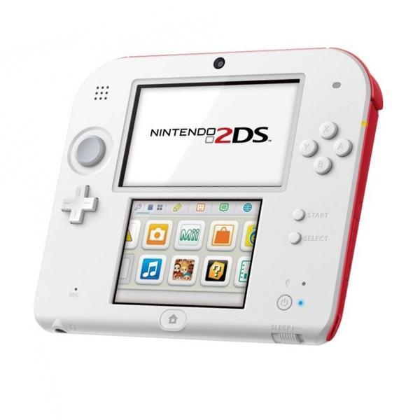 Nintendo 2DS červenobílé (estetická vada)