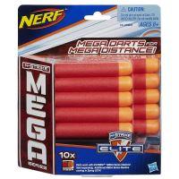 NERF - N-Strike Elite Mega 10ks - Náhradní Šipky (nové)