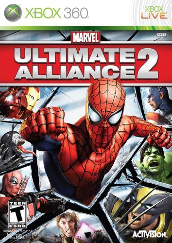 Xbox 360 Marvel Ultimate Alliance 2