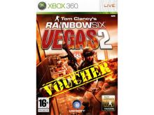 Voucher Xbox 360 Tom Clancys Rainbow Six Vegas 2
