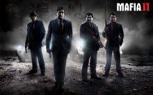 Plakát Mafia 2 Mafia II - Vito, Joe, Henry a Eddie, retro styl (nový)