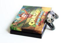 PlayStation 4 500 GB - Crash Bandicoot N Sane Trilogy polep