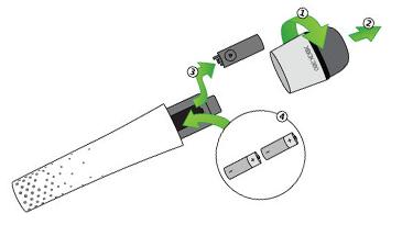 [Xbox 360] Bezdrátový Mikrofon - různé barvy