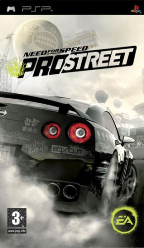 PSP NFS Need For Speed Prostreet
