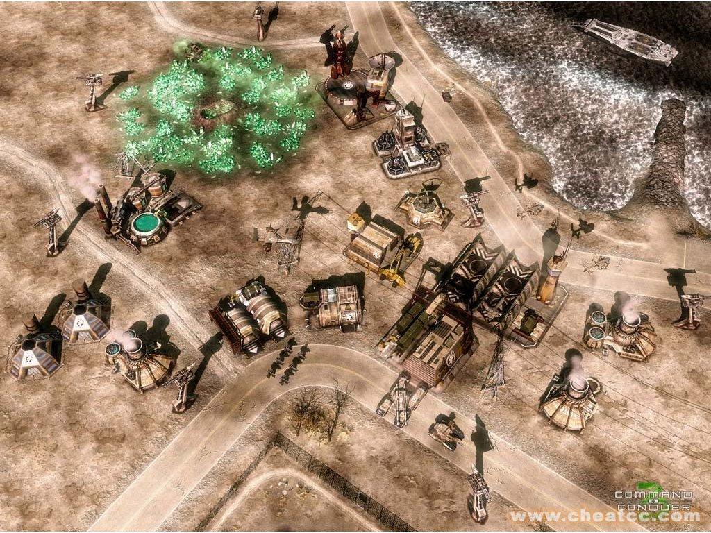 Xbox 360 Command And Conquer 3 Tiberium Wars (DE)