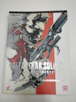 Příručka Metal Gear Solid 2 Sons of Liberty (DE) (estetická vada)