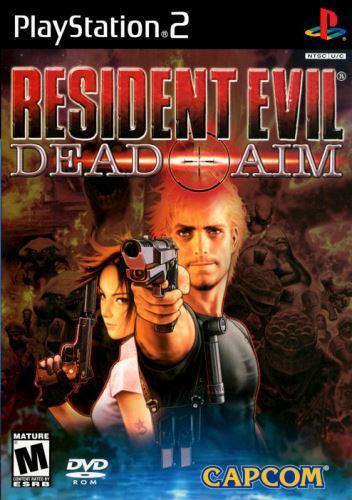 PS2 Resident Evil Dead Aim