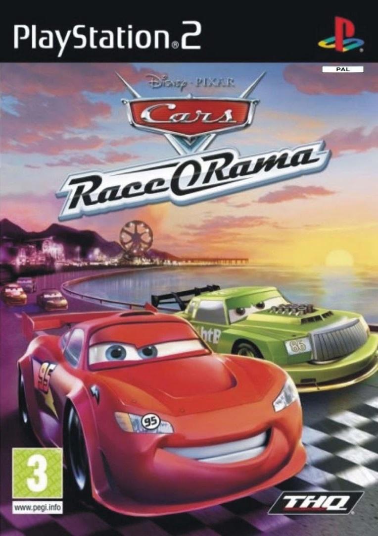 PS2 Auta, Cars Race O Rama