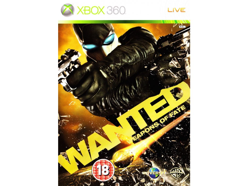 Xbox 360 Wanted Weapons Of Fate