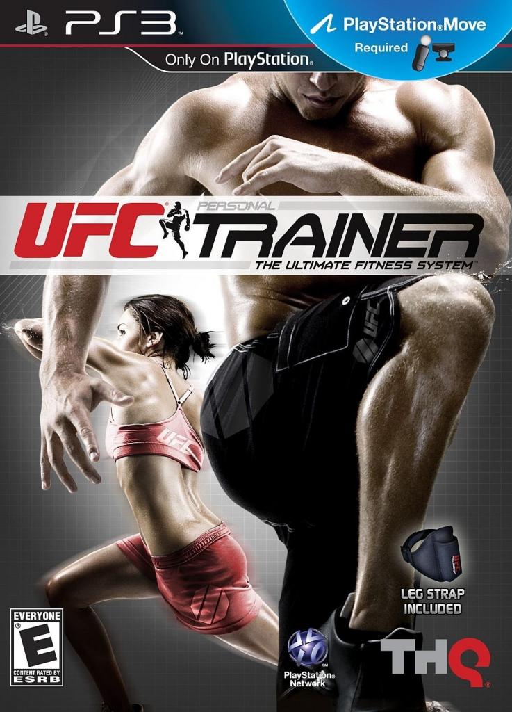 PS3 UFC Personal Trainer + Pásek (nová)