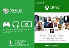 Xbox Live Gold + Game Pass Na 1 měsíc