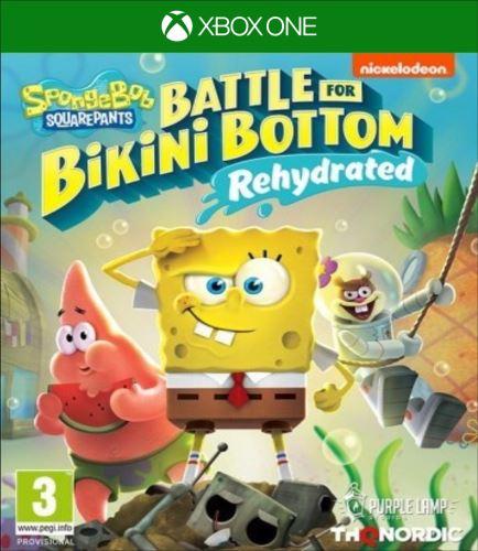 Xbox One Spongebob SquarePants Battle for Bikini Bottom Rehydrated (nová)