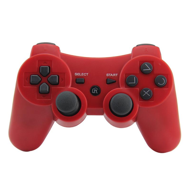 [PS3] Bezdrátový Ovladač - červený (nový)