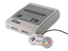 Super Nintendo Entertainment System 1990 - herní konzole (estetická vada)