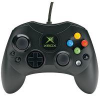 [Xbox Original] Drátový originální ovladač Microsoft S - černý (estetická vada)