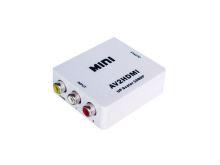 AV to HDMI převodník/konvertor signálu HDMI - bílý (nový)