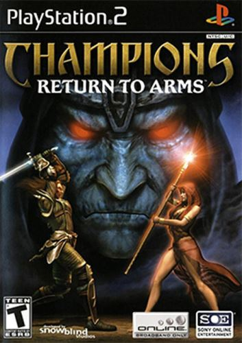 PS2 Champions Return To Arms