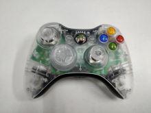 [Xbox 360] Bezdrátový Ovladač Microsoft - průhledný (estetické vady)
