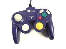 [Nintendo GameCube] Drátový ovladač BigBen - fialový (estetická vada)