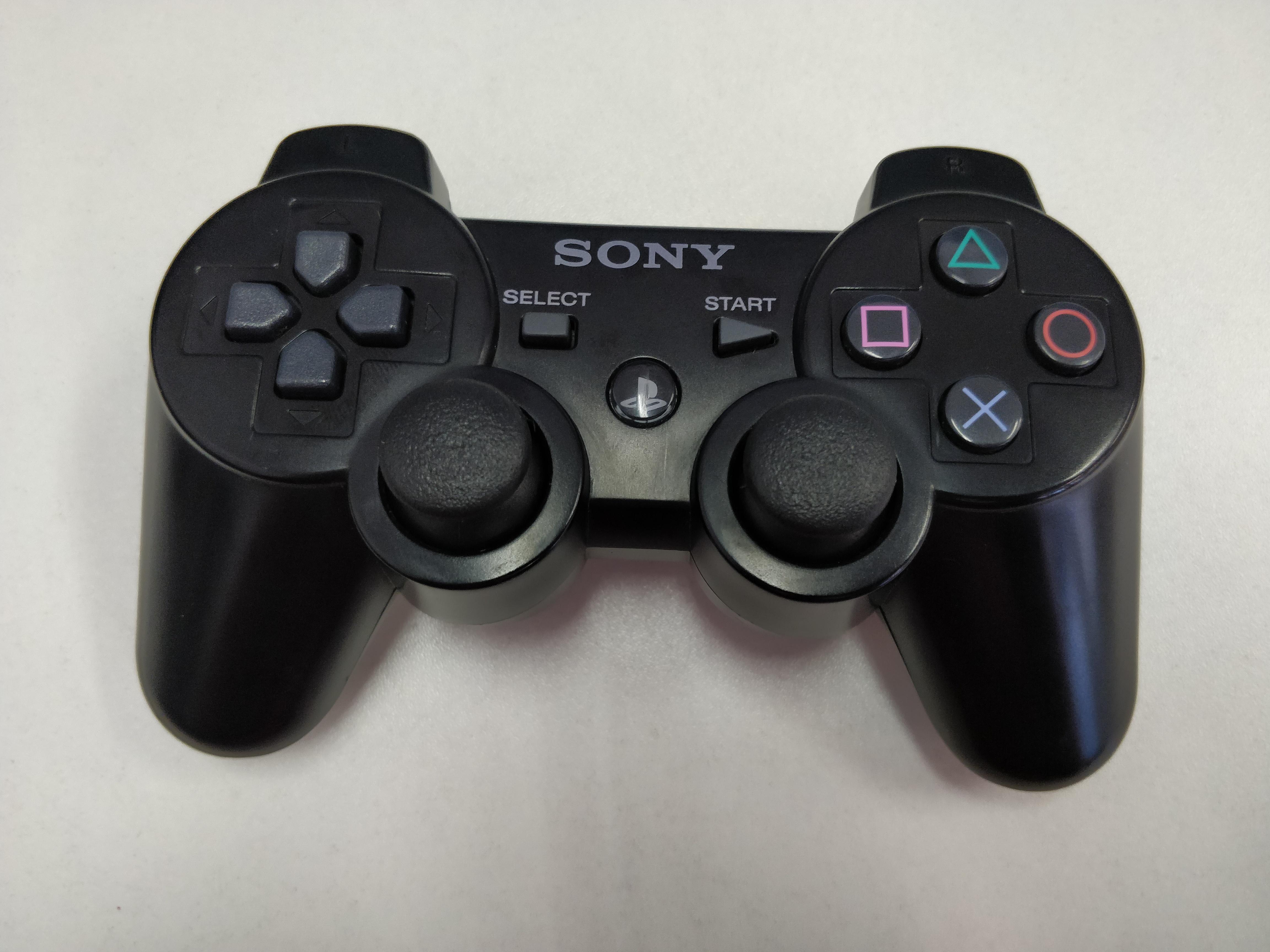 [PS3] Bezdrátový Ovladač Sony Sixaxis - černý (estetická vada)