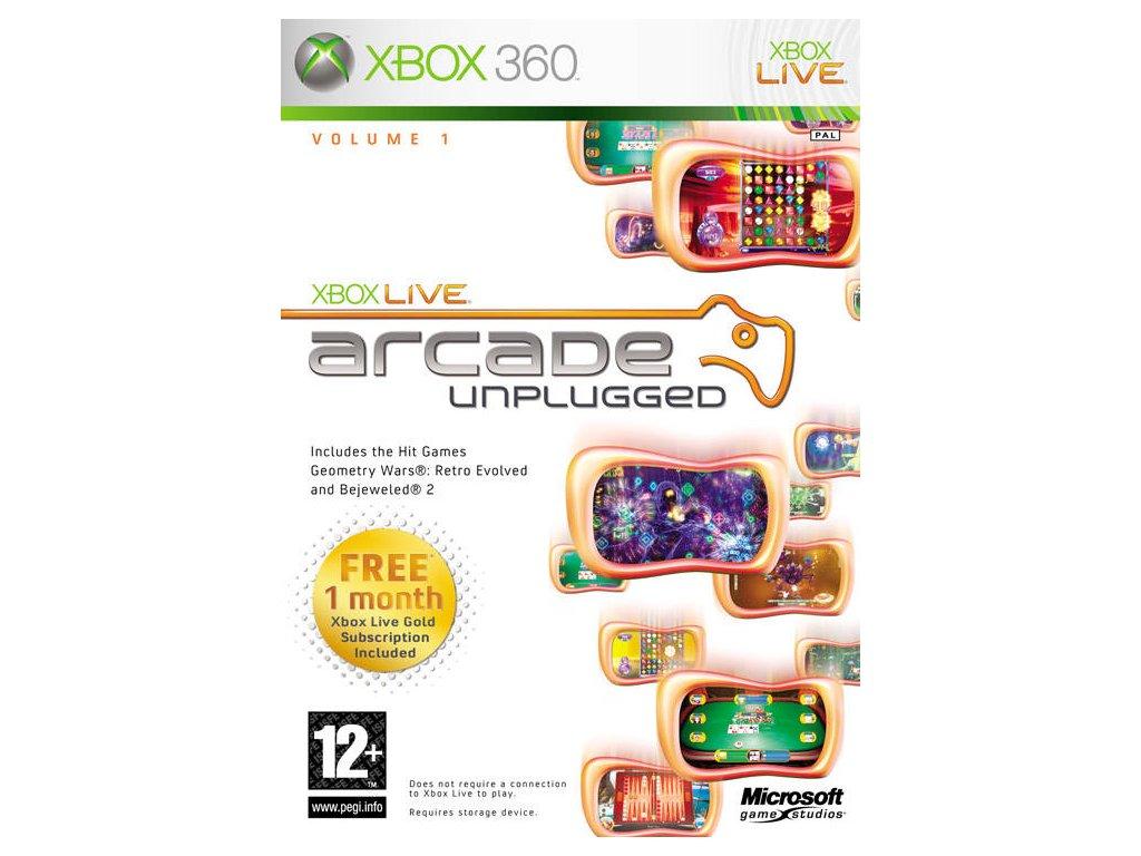 Xbox 360 Xbox Live Arcade Unplugged
