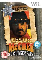 Nintendo Wii Mad Dog McCrea Gunslinger Pack