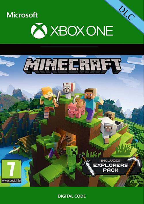 Voucher Xbox One Minecraft: Explorers Pack (doplněk ke hře)
