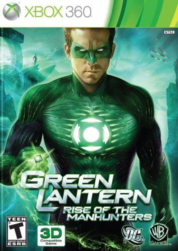Xbox 360 Green Lantern - Rise Of The Manhunters