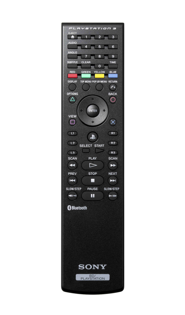 [PS3] Originální Dálkový Ovladač - Blu-Ray Remote Control