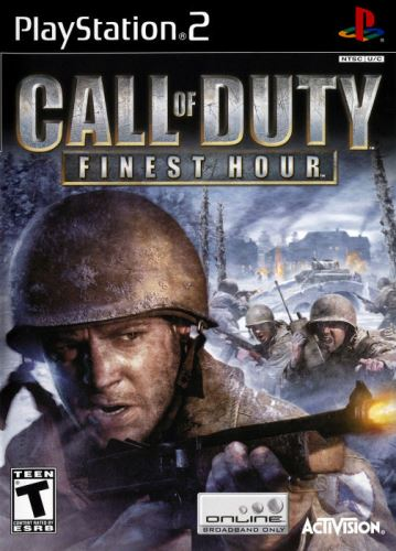 PS2 Call Of Duty Finest Hour (DE)