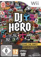 Nintendo Wii DJ Hero (pouze hra)