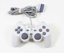 [PS1] Drátový Ovladač Sony Dualshock - bílý