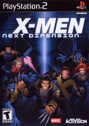 PS2 X-Men Next Dimension