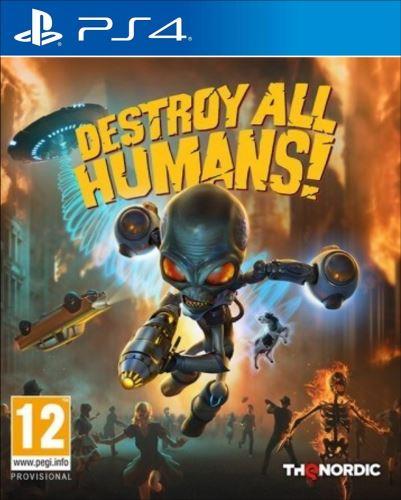PS4 Destroy all Humans! (nová)