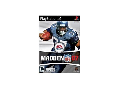 PS2 Madden NFL 07 2007