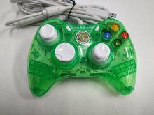 [Xbox 360] Drátový Ovladač Rock Candy - zelený (estetická vada)