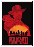 Plakát Red Dead Redemption 2 - Arthur (b) (nový)