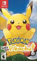 Nintendo Switch Pokémon Lets Go Pikachu! (nová)