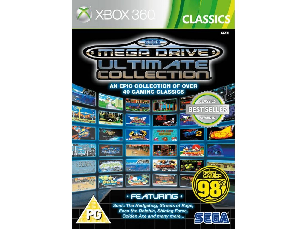 Xbox 360 Sega Mega Drive Ultimate Collection (nová)