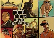 Plakát Grand Theft Auto San Andreas (b) (nový)