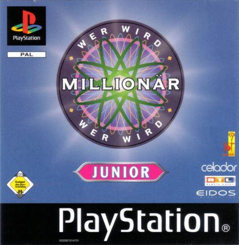 PSX PS1 Kdo chce bý milionářem Junior (627)